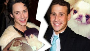 Johnny Weir Divorce -- Not Without My Dog ... and Closet Full of Shoes