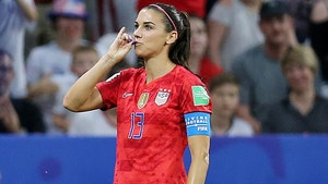Alex Morgan Says Criticism Over Tea Sipping is Proof of Double Standard