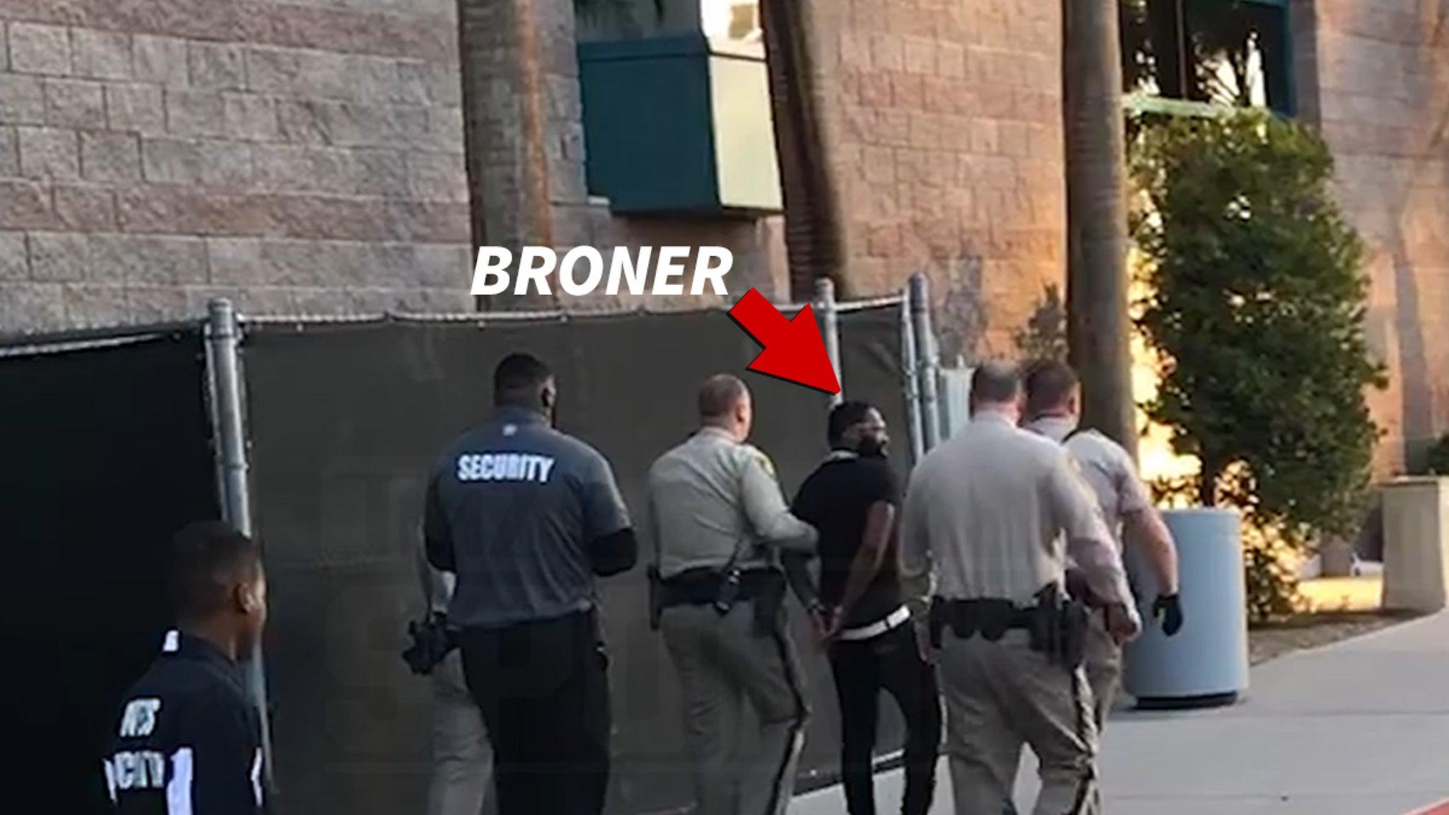 Adrien Broner Arrested At Wilder-Fury Weigh-In