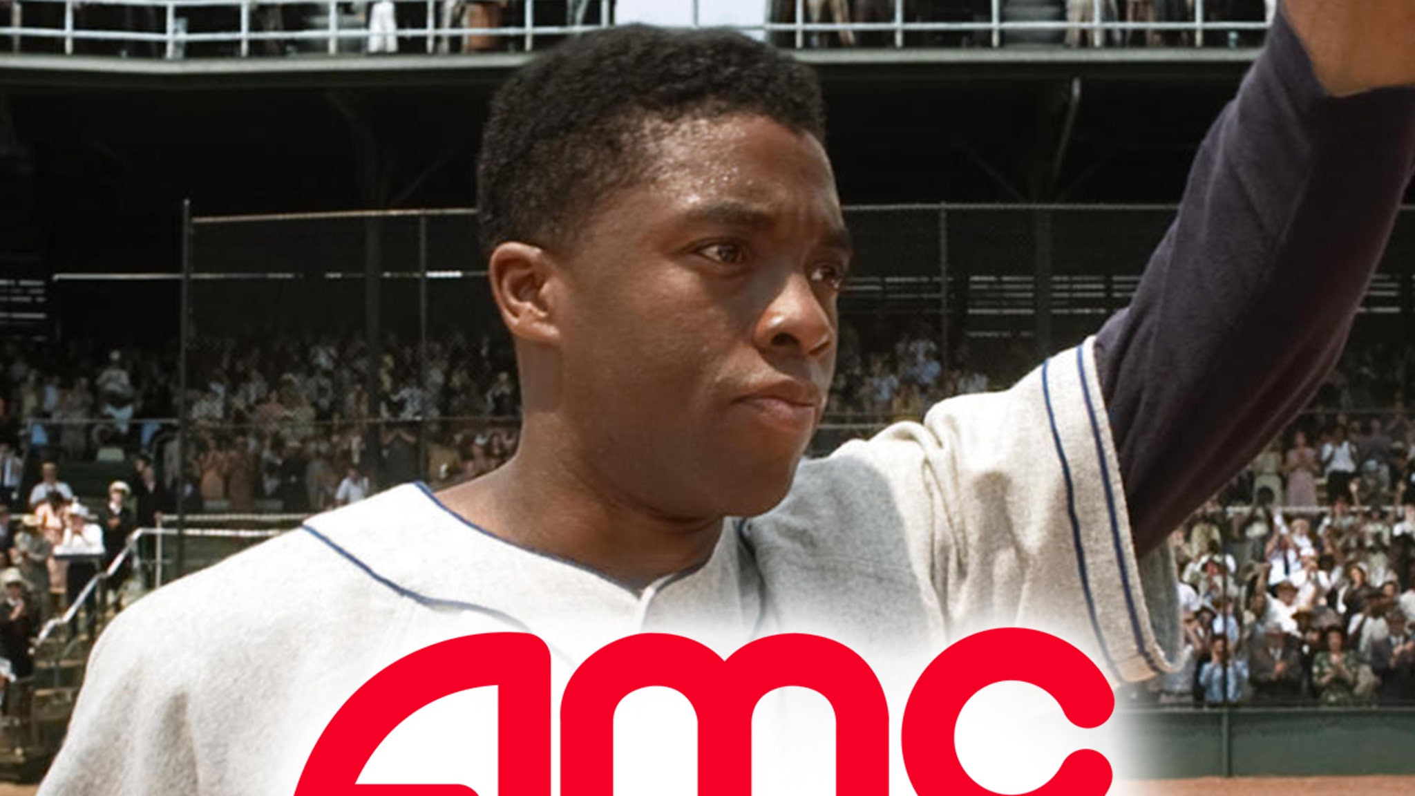 Chadwick Boseman's Jackie Robinson Biopic, '42,' To Return To Theaters After Death