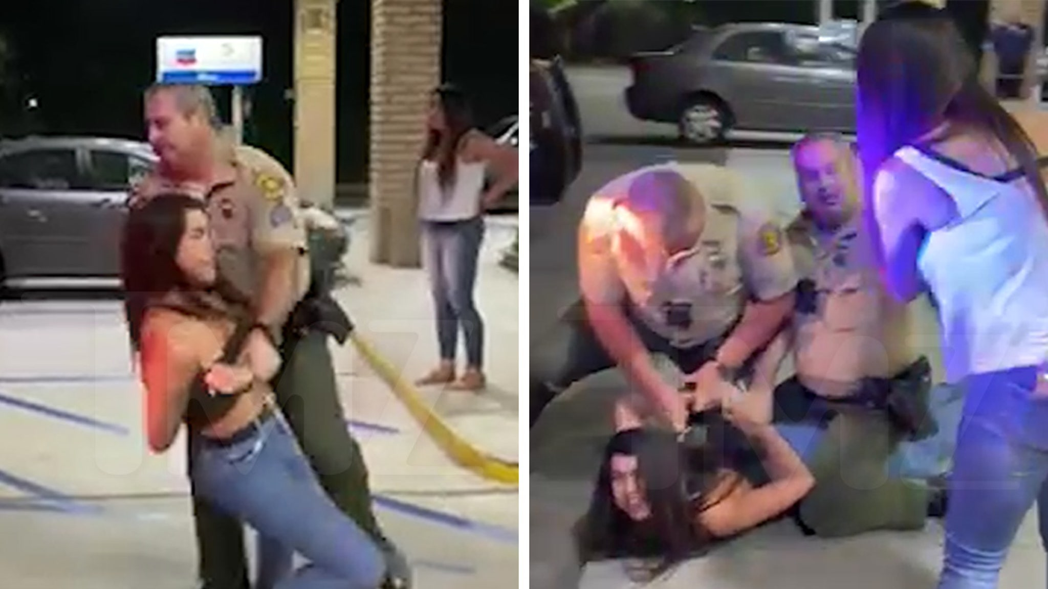 Miya Ponsetto's Second DUI Arrest Was Wild & Flailing, Caught on Video