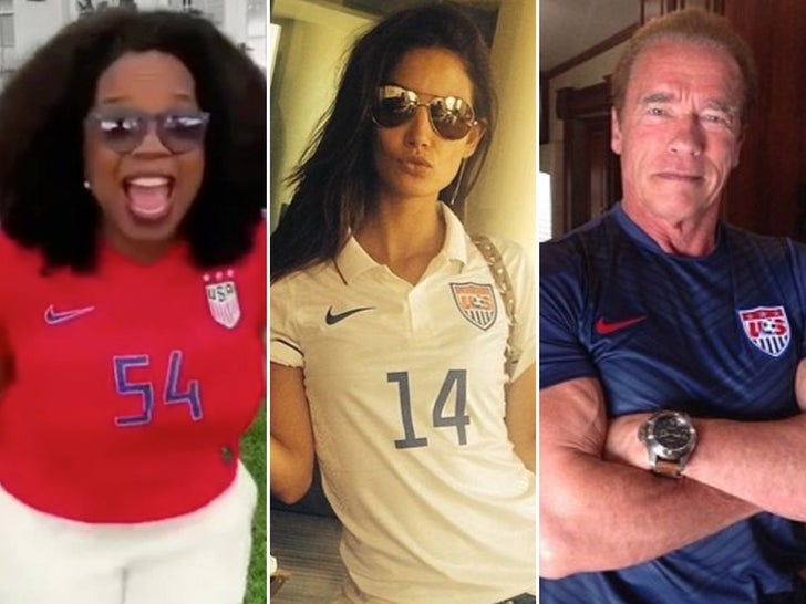 Famous USA Soccer Fans -- For The Win!