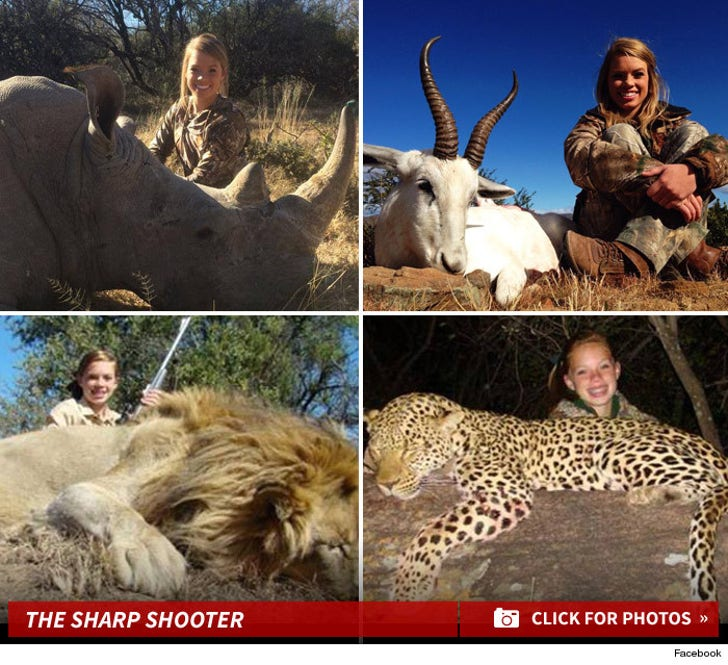 Kendall Jones Hunting Photos -- The Sharp Shooter