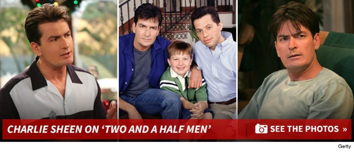 Charlie Sheen on 'Two And A Half Men'
