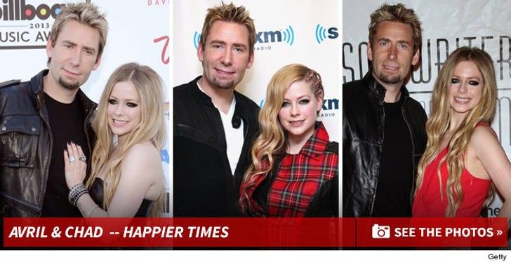 Avril Lavigne & Chad Kroeger -- Together Photos