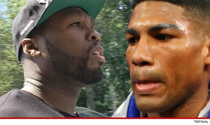 Boxing Star to 50 Cent -- YOU FAILED ME     Let Me Out of My