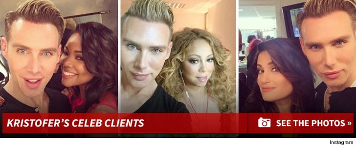 Kristofer Buckle's Celeb Clients