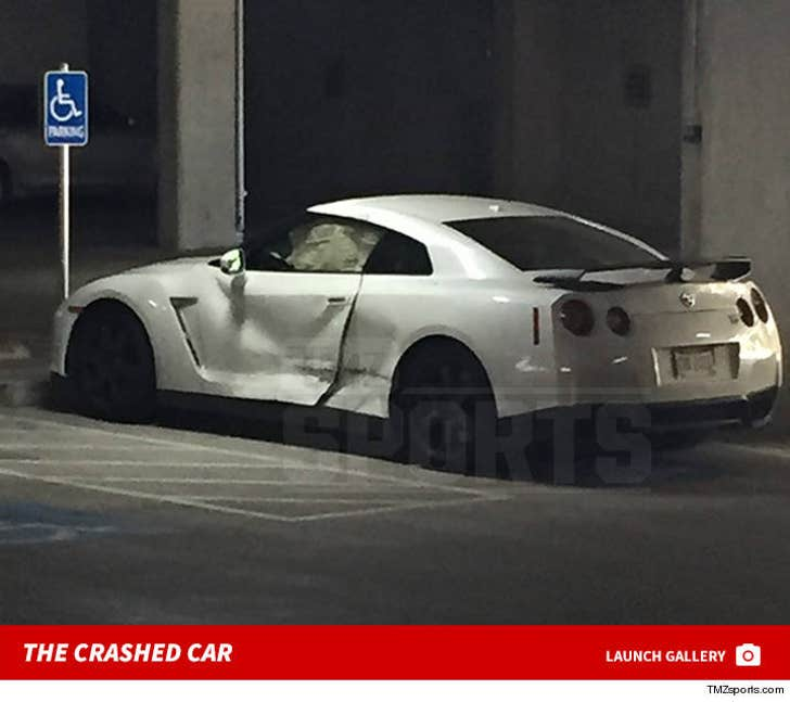 Johnny Manziel -- Another Mysterious Car Wreck