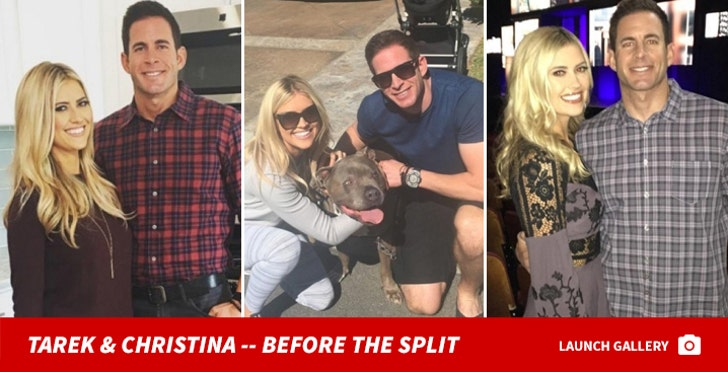 Tarek and Christina El Moussa -- Before the Split