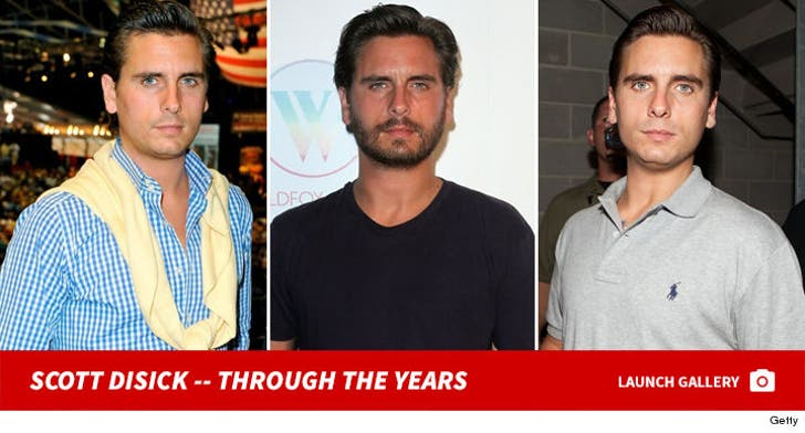 Scott Disick -- Through the Years