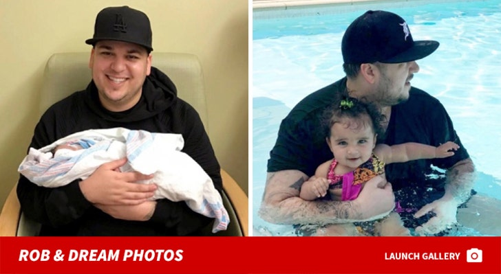 Rob Kardashian and Dream Photos