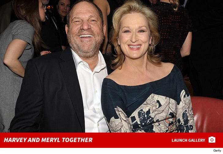 Harvey Weinstein and Meryl Streep Together