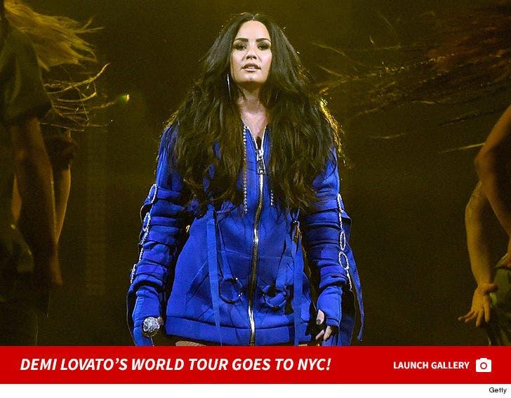 Demi Lovato 'Tell Me You Love Me' World Tour - Brooklyn