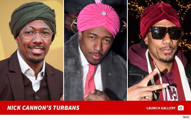 Nick Cannon In Turbans