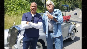 Jay Leno Pulls Off Side of Road to Help Owner of 1953 Mercedes-Benz