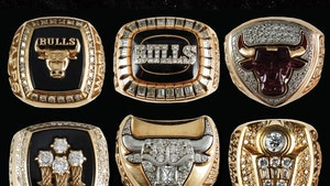 Chicago Bulls 6 Championship Rings Set Sell For $255k At Auction