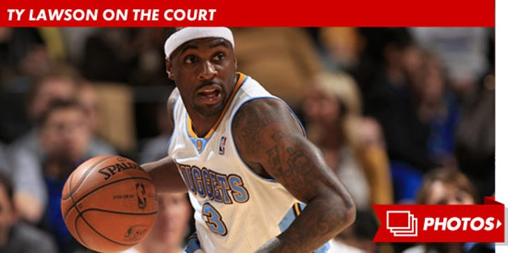 Denver Nuggets Star Ty Lawson on the Court