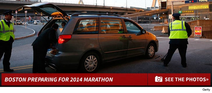 Boston Prepares For 2014 Marathon