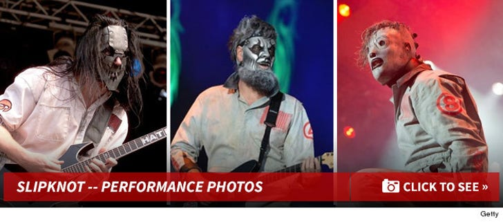 Slipknot on Stage -- The Performance Pics