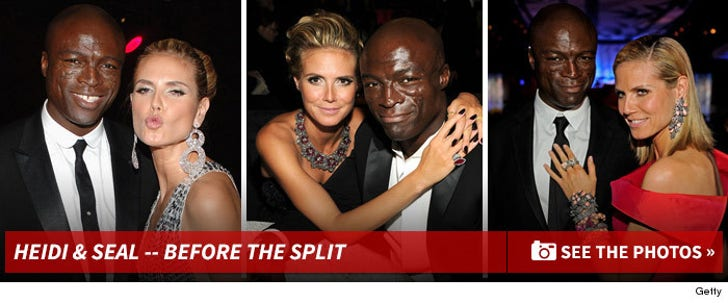Heidi and Seal -- Before The Split!