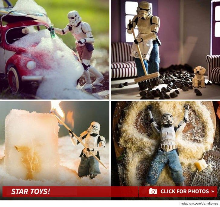 Storm Trooper In Action -- Instagram's Coolest Star Wars Account
