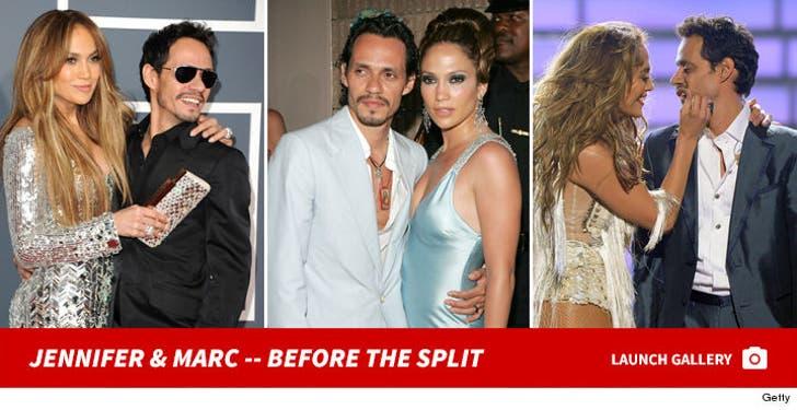 Jennifer and Marc -- Before the Split
