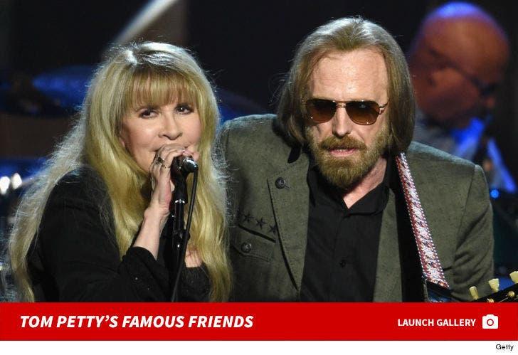 Tom Petty's Famous Friends