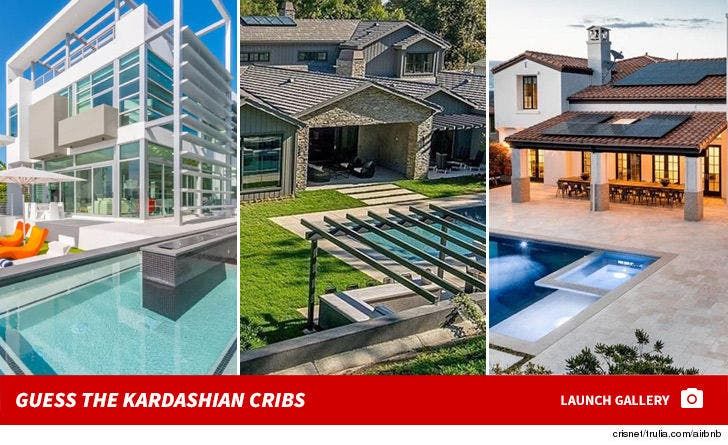 Guess The Kardashian Cribs!