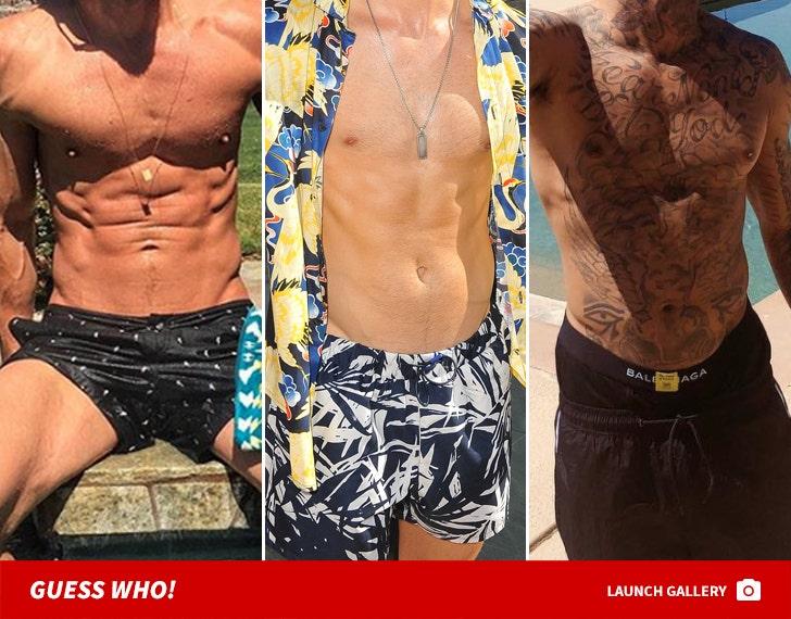 Hot Coachella Man Bods -- Guess Who!