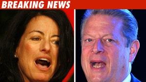 Larry David's Wife Curbs Al Gore Affair Report