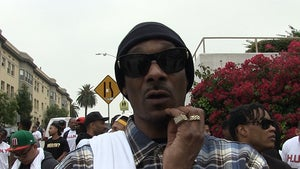 Snoop Dogg on Dallas Assassinations -- You Can't Answer Hate with Hate (VIDEO)