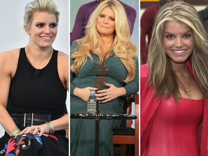Jessica Simpson Through The Years