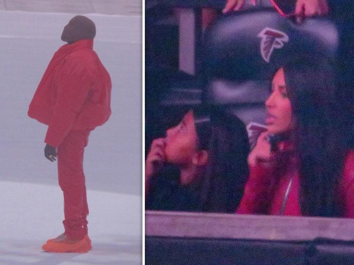 Kardashians Support Kanye West at his Donda Album Release