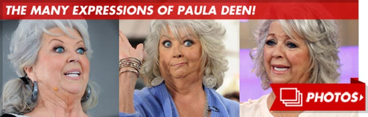 The Many Facial Expressions of Paula Deen!