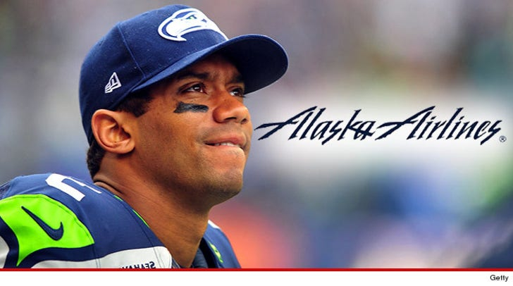 the latest 5dab6 45eda Russell Wilson -- My Jersey Gets You Priority Boarding at ...