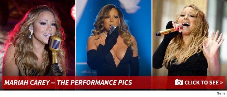 Mariah Carey's Live Performance Photos