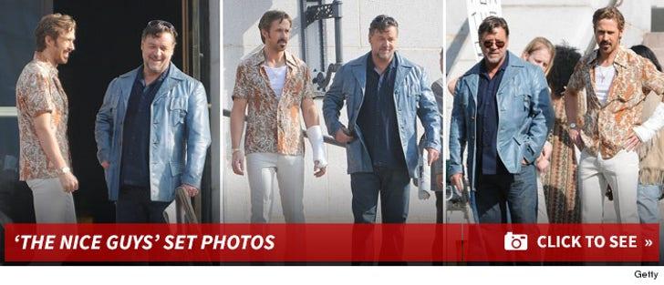 'The Nice Guys' Movie Set Photos
