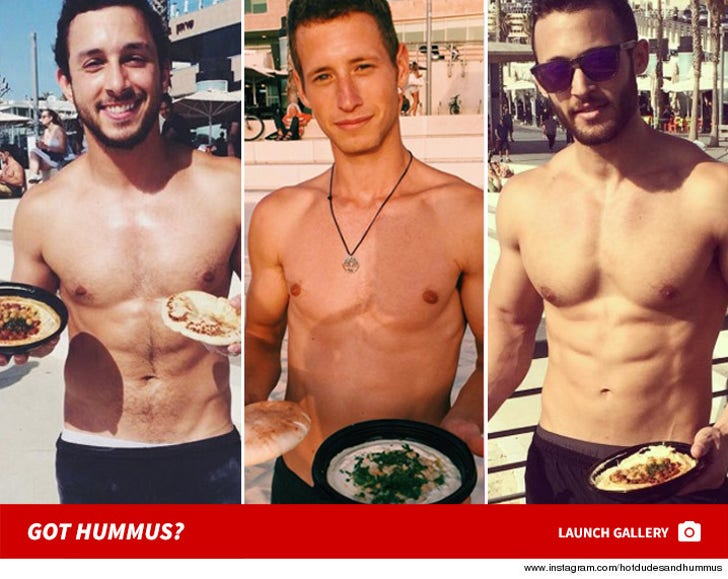 Hot Dudes and Hummus