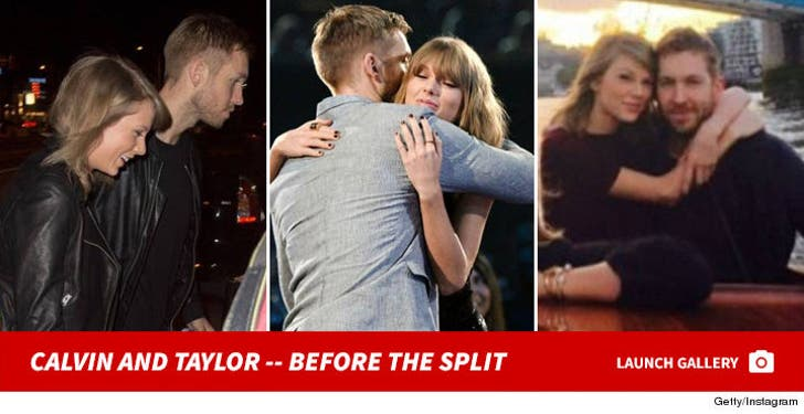 Calvin Harris and Taylor Swift -- Before the Split