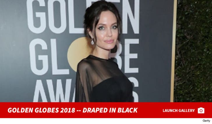 Golden Globes 2018 -- Draped in Black