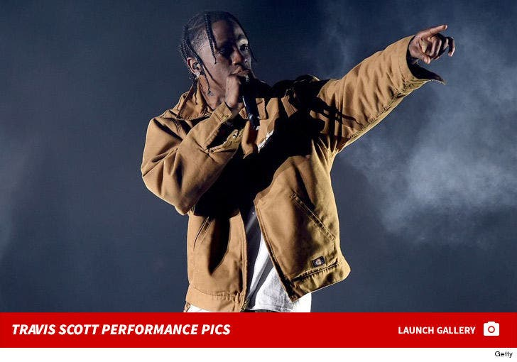 Travis Scott's Performance Photos