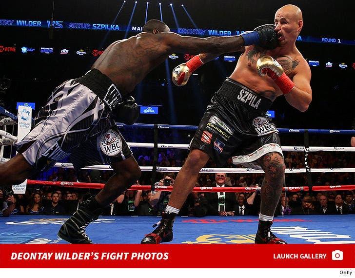 Deontay Wilder Fight Photos