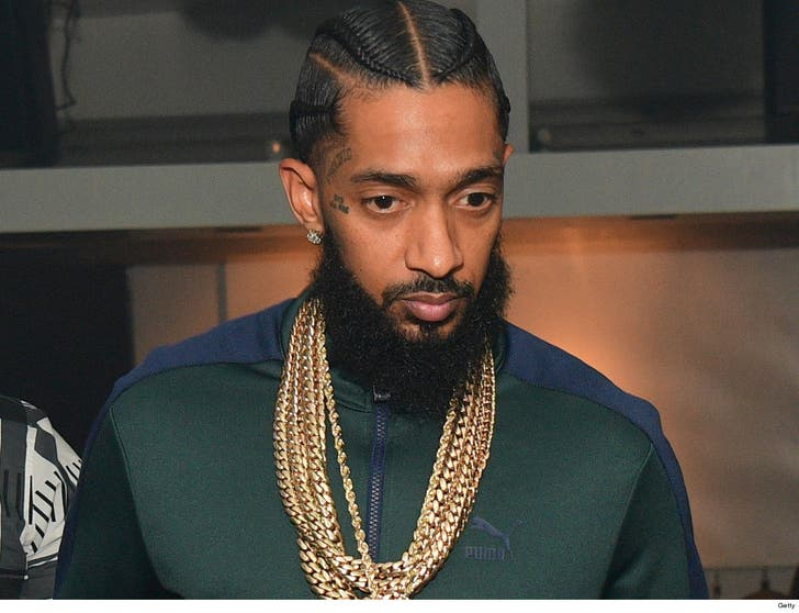 Nipsey Hussle's Family Holds Private Viewing Before
