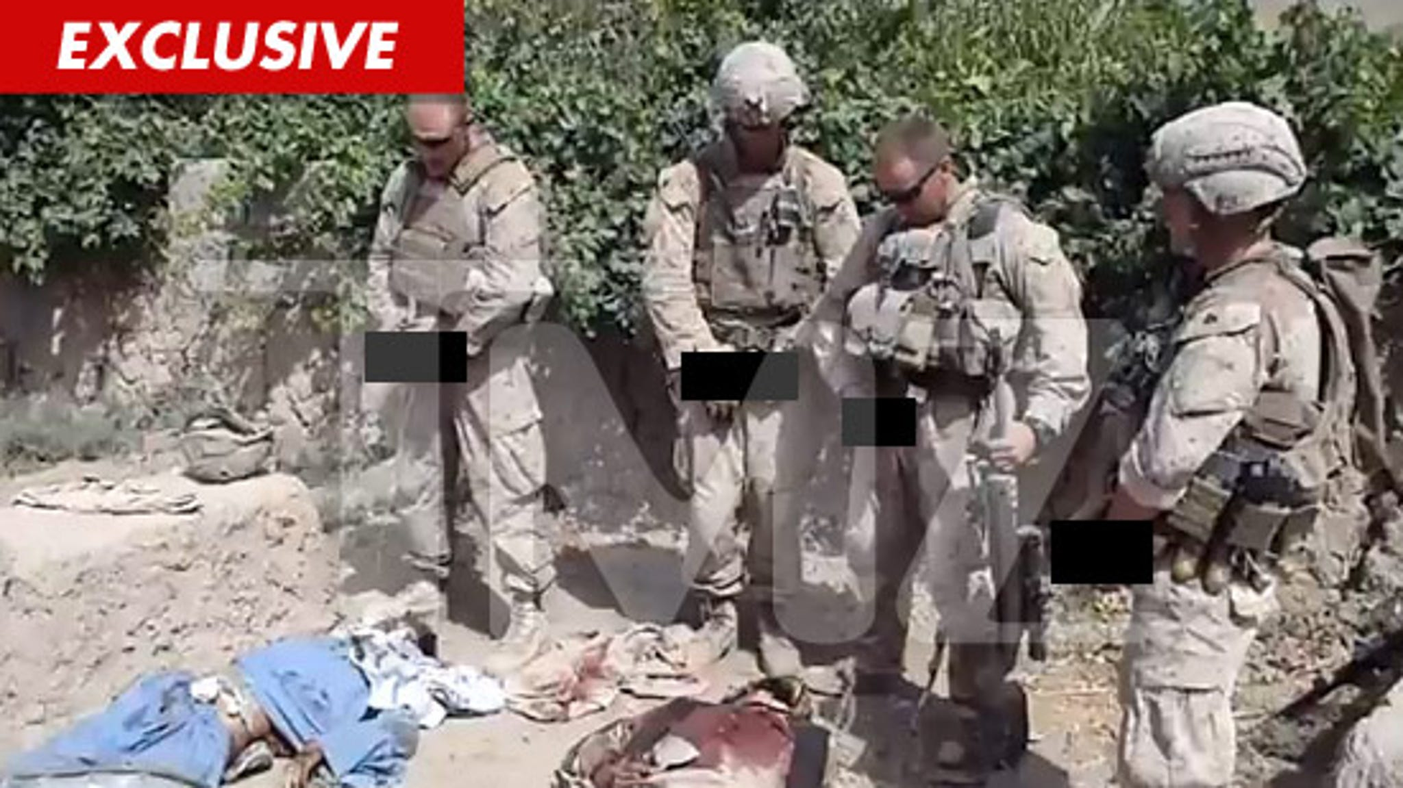 U S  Marines to Launch Investigation into Soldiers Urinating