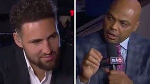 Charles Barkley Rips Warriors to Klay Thompson's Face, You Guys Suck!
