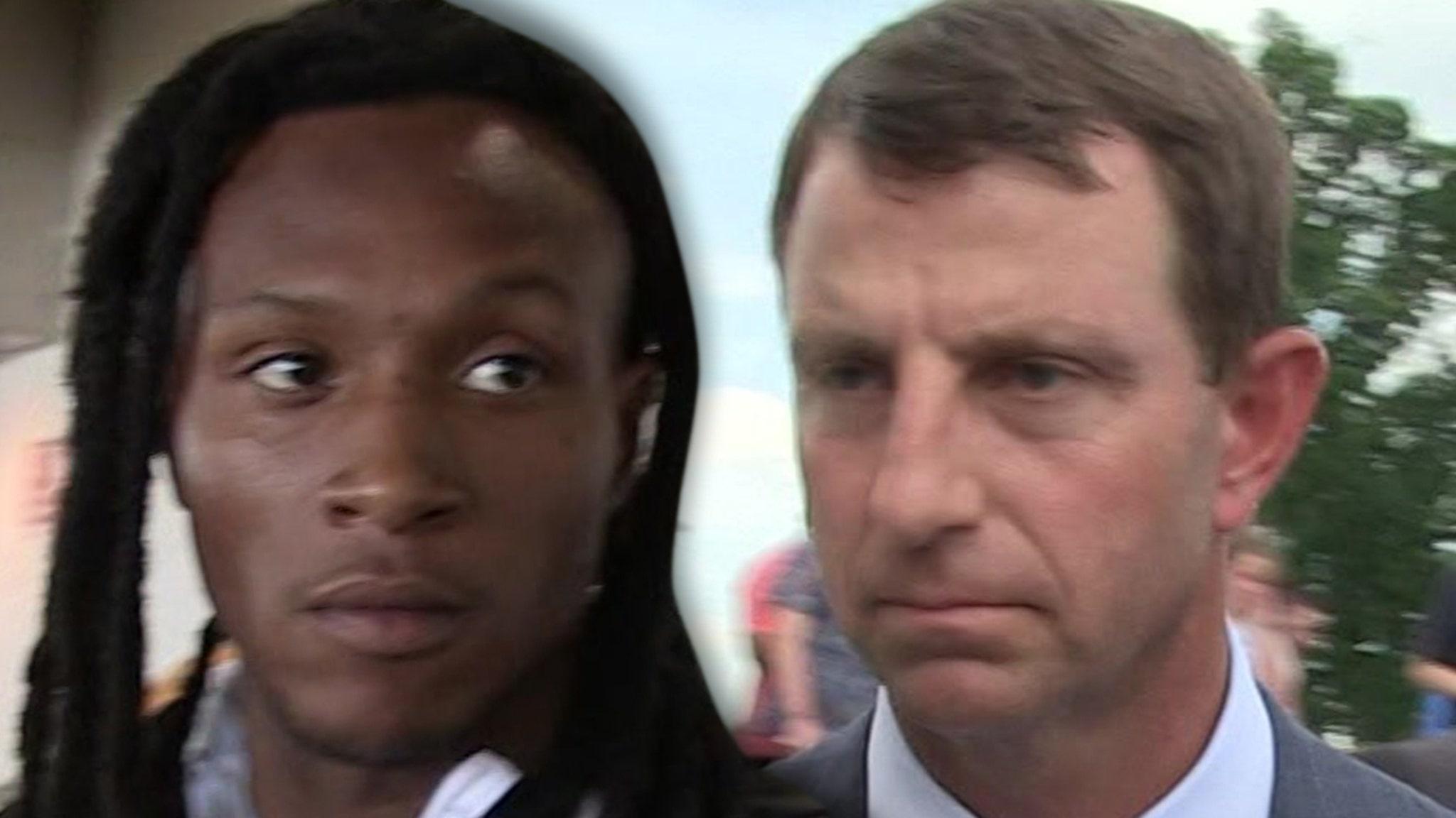 DeAndre Hopkins Says Dabo Swinney's No Racist, 'Helped Me Become a Man'