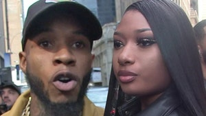 Tory Lanez Arrested on Gun Charge, Megan Thee Stallion in Car