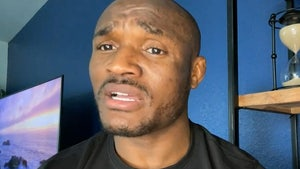 UFC Champ Kamaru Usman Wants To Be Contestant On 'Dancing with the Stars'
