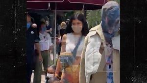 Kylie Jenner & Travis Scott Take Stormi to Disneyland