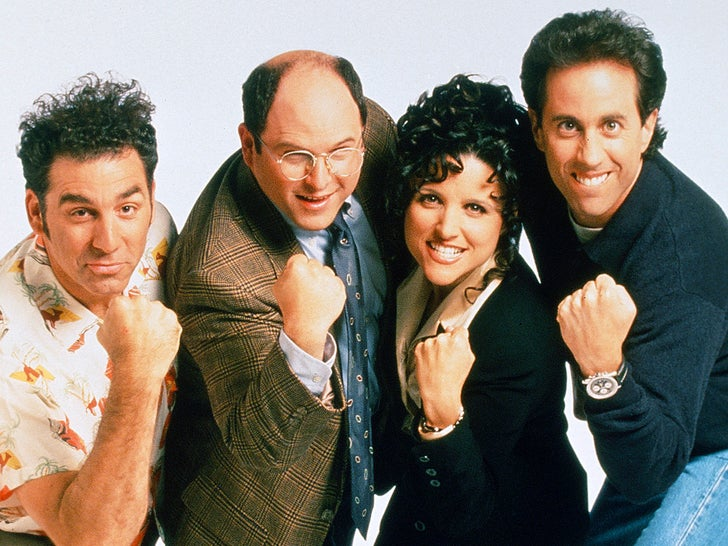 'Seinfeld' Cast - Then And Now